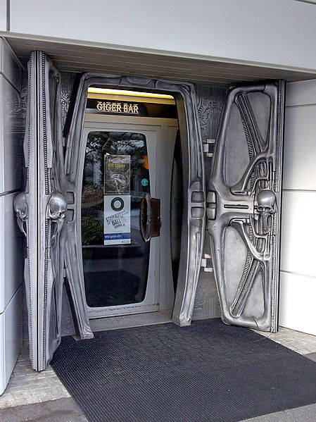 Giger bar in Switzerland