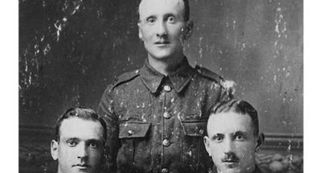 First World War soldiers, source: IWM