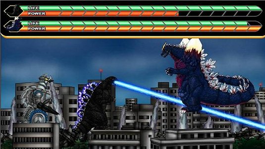 Free Flash game Godzilla Daikaiju Battle Royale