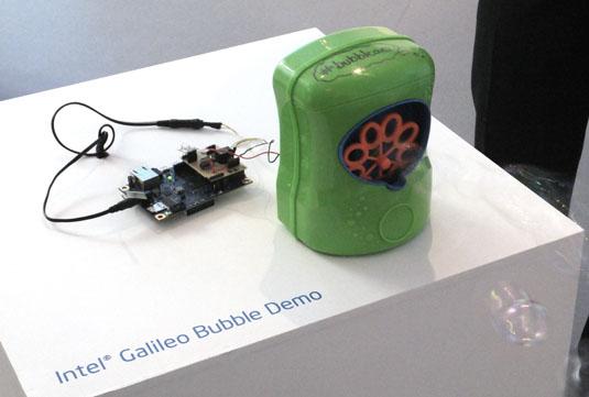 Intel Galileo Bubbleao demo