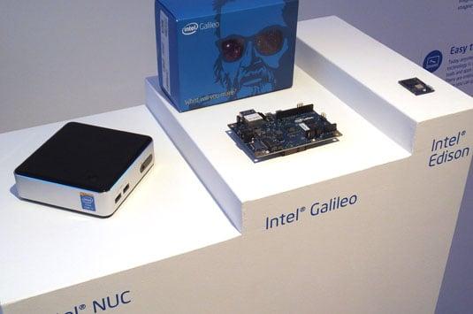 Intel's trio: NUC, Galileo and Edison