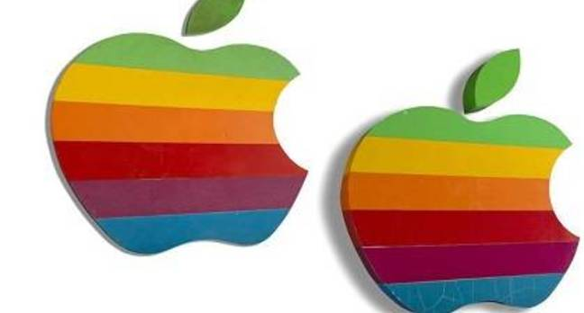Apple signs for auction