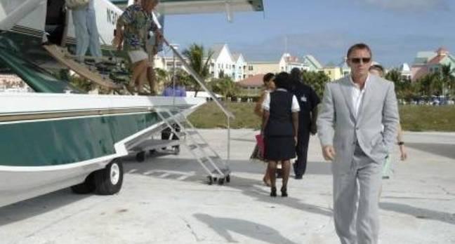 James Bond in the Bahamas