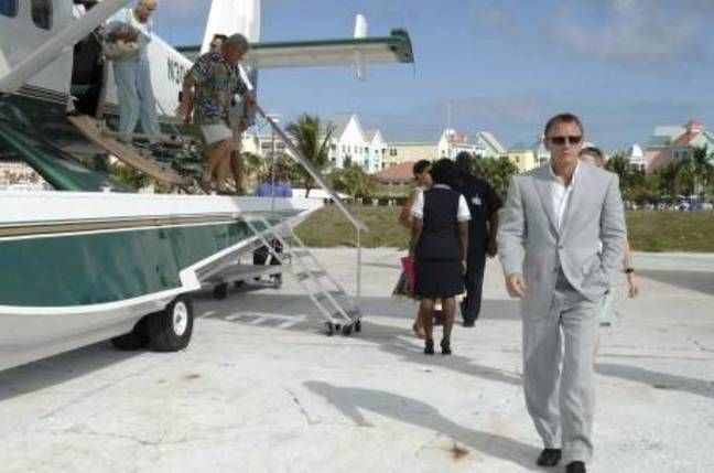 James Bond in the Bahamas