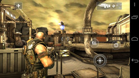 Shadowgun on an 90 quid phone – blimey