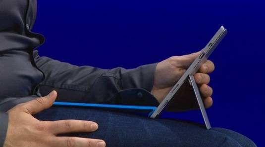 Surface Pro 3 on the lap