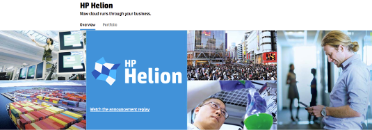 HP Helion marketing from HP website