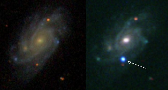 Wolf-Rayet star explodes in a Type IIb supernova