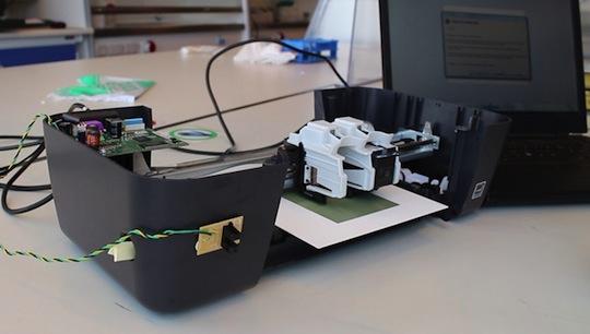 DTU's fuel-cell printer