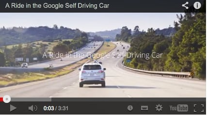 Riding in Google's driverless car