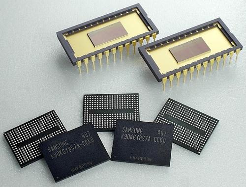 Samsung gen 2 3D V-NAND chips