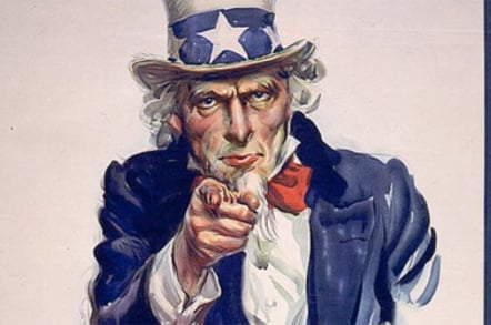 Uncle Sam recruiting poster