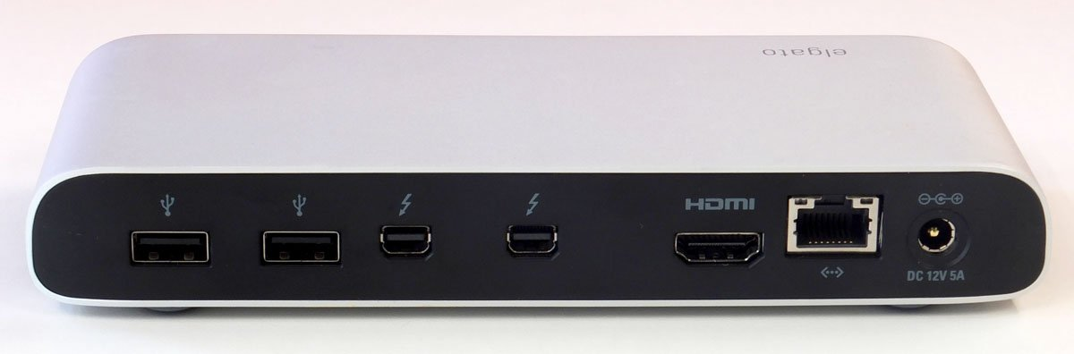 Plugging the gaps in today 39 s macs elgato thunderbolt dock - Porta thunderbolt hdmi ...
