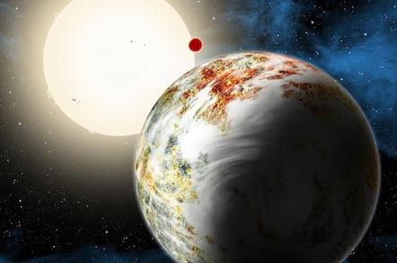 Kepler-10c artist's impression