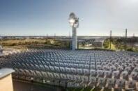 CSIRO's solar thermal station