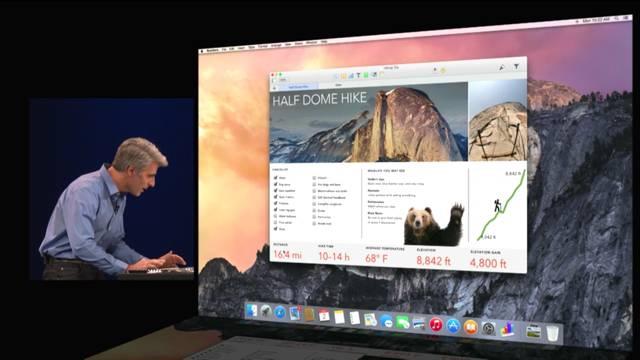Apple unveils OS X Yosemite