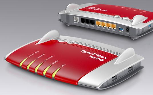 AVM Fritz!Box 7490 802.11ac router