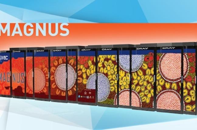 iVEC's Magnus supercomputer