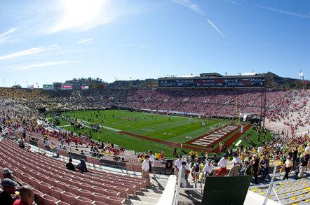 The Pasadena Rose Bowl