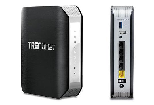 Trendnet TEW-818DRU 802.11ac routers