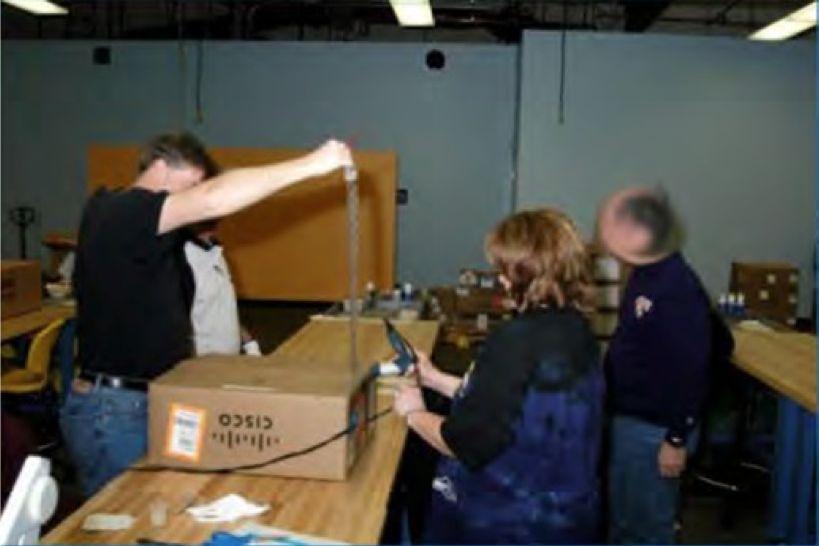 Cisco equipment and NSA staff
