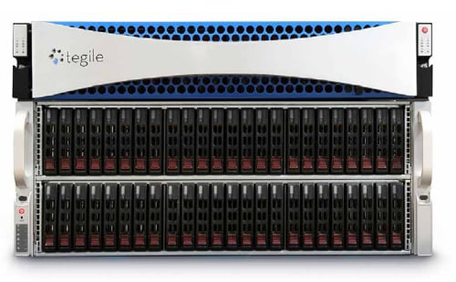 Tegile Zebi array