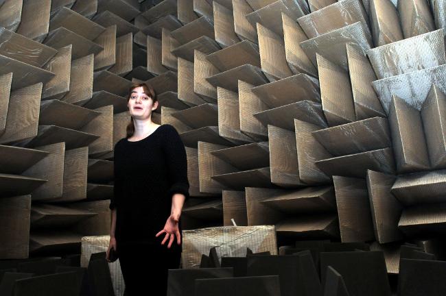 Hemi anechoic chamber, photo: Gavin Clarke