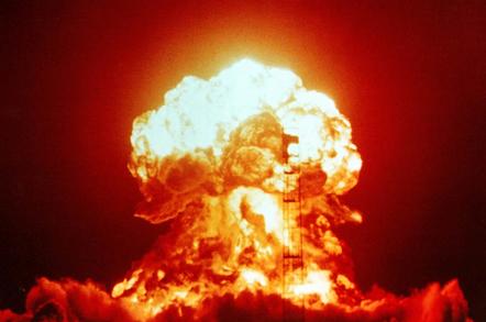 Nuke blast