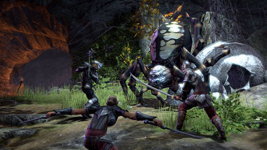 Elder Scrolls online - Spider battle
