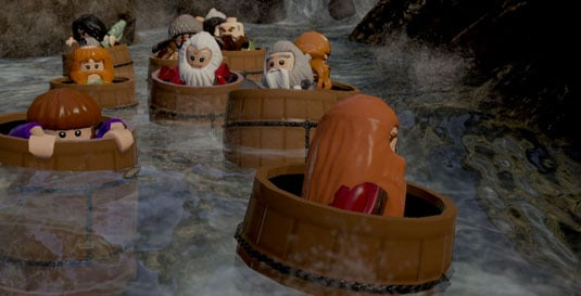 Lego The Hobbit – a barrel of fun