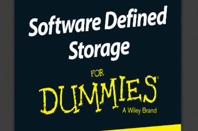 Software-Defined Storage for Dummies. It's a real book!