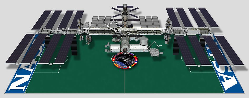 Soccer Football in SPAAACE! ISS 'naut nails zero-G bicycle ...