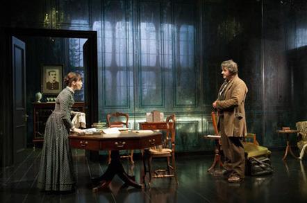 Photo by Hugo Glendinning: Ibsen's Ghosts – Almeida Theatre Production
