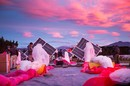 The Project Loon team prepares solar panels, electronics and balloon envelopes for launch as the sun rises in New Zealand.