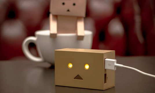 Danbo Robot Head Portable Power Charger