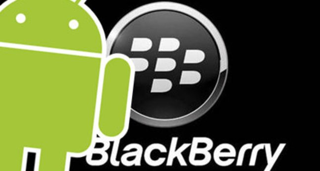 BlackBerry and Android, together at last