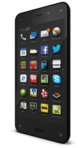 Photo of the Amazon Fire Phone