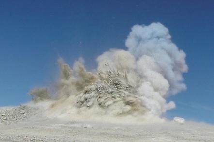 Breaking ground on Cerro Armazones for the E-ELT