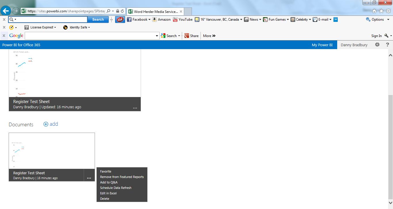 Power BI Office Just Got More Intelligent The Register - Create invoice from excel data online vape store
