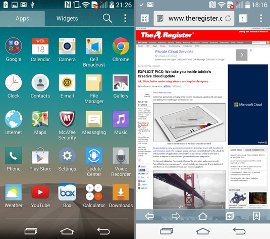 how to close apps on lg g3 phone