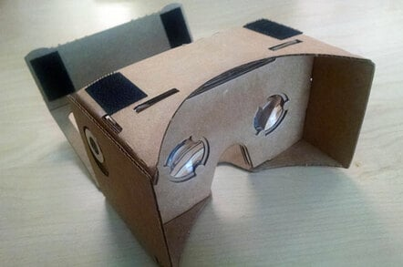 Google's Oculus-defying VR headset is made of CARDBOARD – no joke