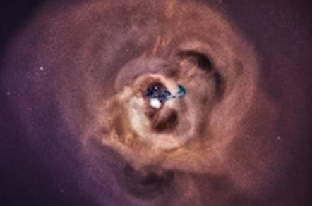 Perseus galactic cluster