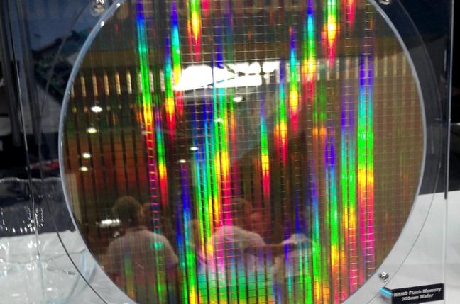 Toshiba NAND wafer