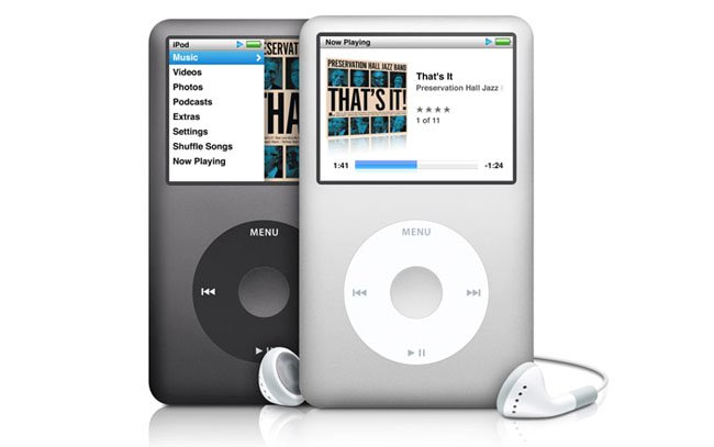 Apple iPod Classic – a design icon but the range has never been lauded for sonic excellence