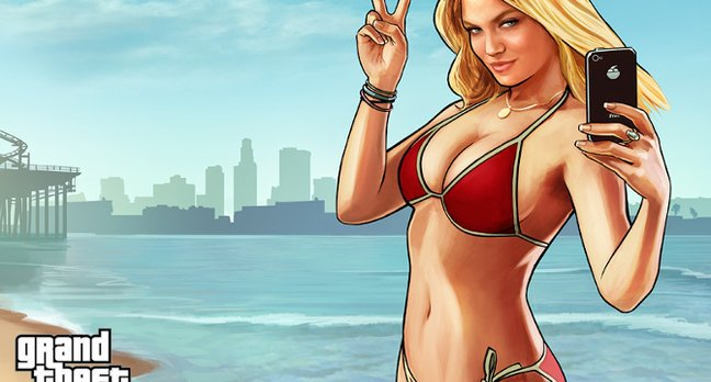 Grand Theft Auto Lindsay Lohan lookalike