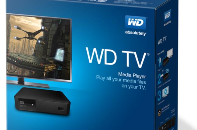 WD TV bix