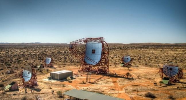 Namibia's HESS-II radio telescope