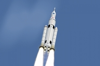 Artist's concept: NASA's Space Launcher System