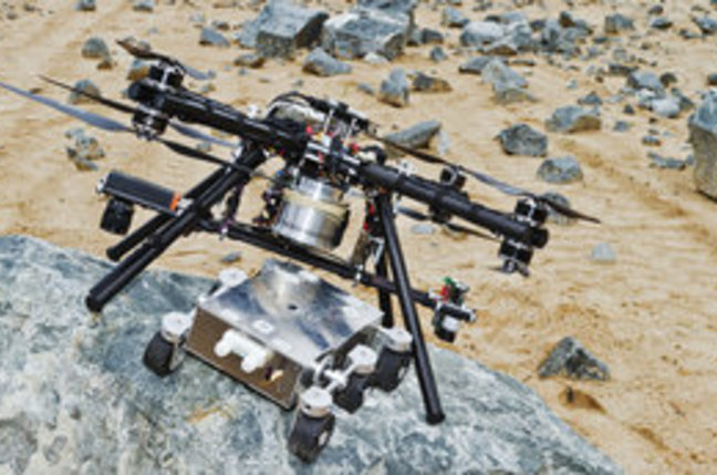 "ESA's ""Dropship"" drone"