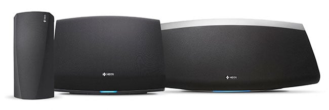 Denon HEOS multi-room speakers